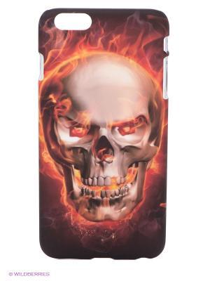 Чехол для iPhone 6 plus WB. Цвет: красный, темно-бежевый, черный