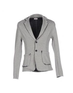 Пиджак X-CAPE. Цвет: светло-серый