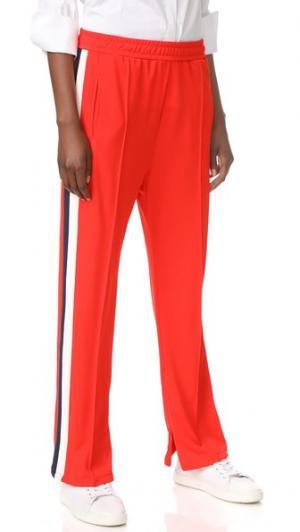 Тренировочные брюки Neoli Ganni. Цвет: красный