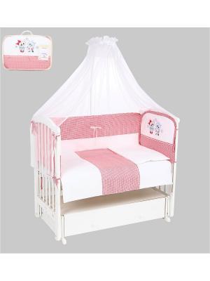 Комплект в кроватку LEADER KIDS. Цвет: красный