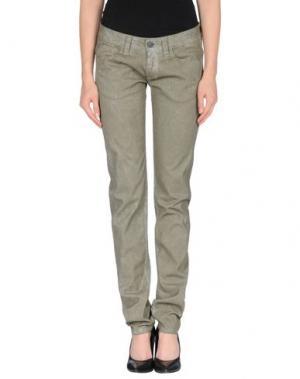 Джинсовые брюки CELLAR DOOR. Цвет: зеленый-милитари