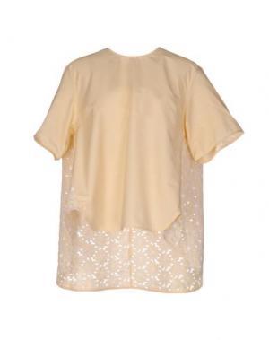 Блузка AIMO RICHLY. Цвет: желтый