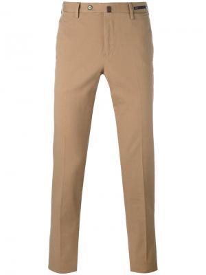Классические брюки чинос Pt01. Цвет: коричневый