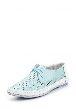Ботинки Zenden Comfort. Цвет: бирюзовый