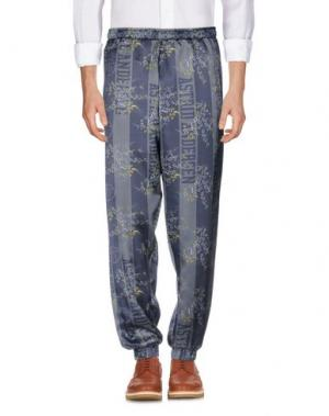 Повседневные брюки ASTRID ANDERSEN. Цвет: темно-синий