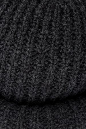 Шапка из шерсти и альпаки Marc Jacobs. Цвет: серый