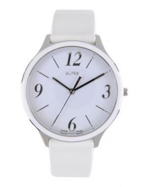 Наручные часы ALFEX. Цвет: белый