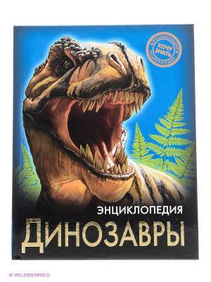Энциклопедия Хочу знать. Динозавры Проф-Пресс. Цвет: черный