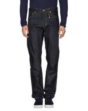 Джинсовые брюки FDMTL. Цвет: синий
