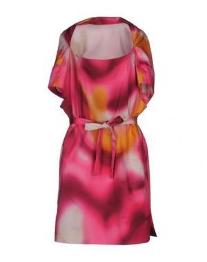 Короткое платье MILA SCHÖN. Цвет: фуксия