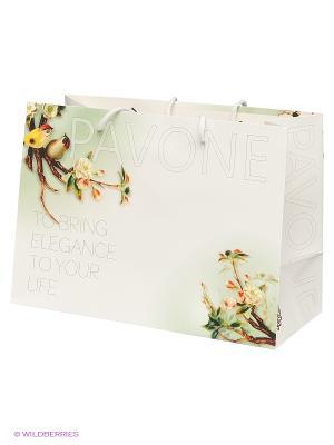 Пакет Pavone. Цвет: белый