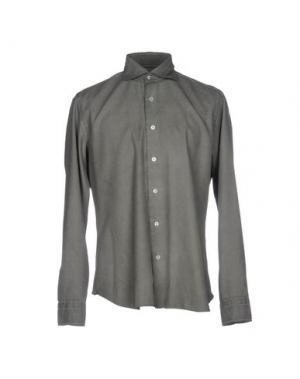 Pубашка DANDYLIFE BY BARBA. Цвет: зеленый-милитари
