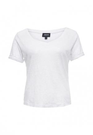 Футболка Armani Jeans. Цвет: белый