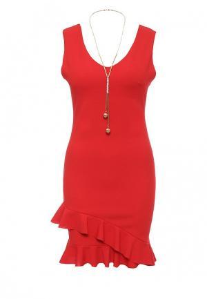 Платье Aurora Firenze. Цвет: красный
