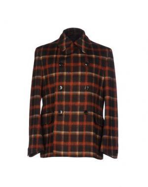 Легкое пальто CANTARELLI. Цвет: темно-коричневый