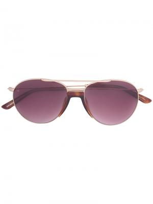 Солнцезащитные очки Fortunate Son Smoke X Mirrors. Цвет: металлический