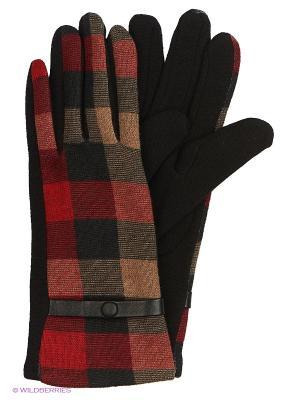 Перчатки текстильные Stilla s.r.l.. Цвет: красный, серый