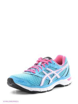 Спортивная обувь GEL-EXCITE 4 ASICS. Цвет: голубой, белый, розовый