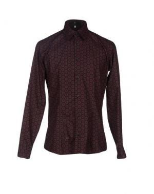 Pубашка I.D.I.B.. Цвет: красно-коричневый