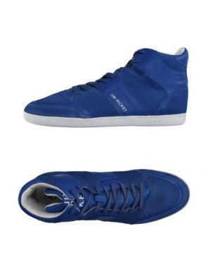 Высокие кеды и кроссовки JIM RICKEY. Цвет: синий
