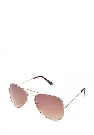 Очки солнцезащитные Visionmania. Цвет: золотой