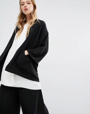 ADPT Пиджак-кимоно. Цвет: черный