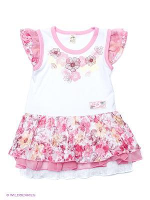 Платье Lucky Child. Цвет: персиковый