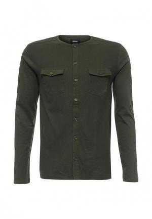 Лонгслив Burton Menswear London. Цвет: зеленый