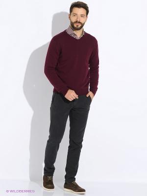 Пуловер Maurizio Baldassari. Цвет: темно-фиолетовый