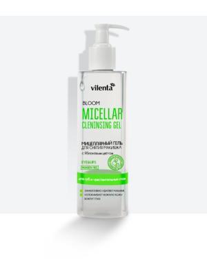 Мицеллярный гель для снятия  макияжа BLOOM, 200 мл Vilenta. Цвет: прозрачный