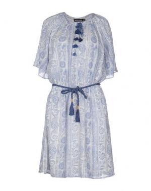 Платье до колена ANTIK BATIK. Цвет: небесно-голубой