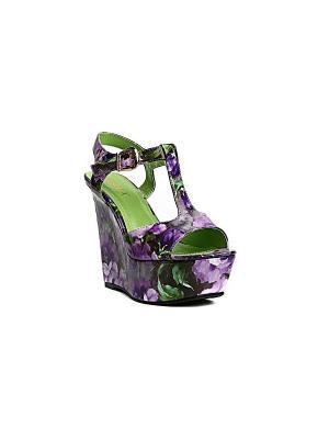 Босоножки MILANA. Цвет: фиолетовый
