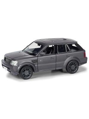 Машина металлическая Land Rover Range Sport HOFFMANN. Цвет: черный