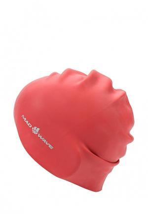 Шапочка для плавания MadWave. Цвет: разноцветный