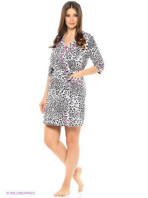 Комплект домашней одежды HomeLike. Цвет: серый, фуксия