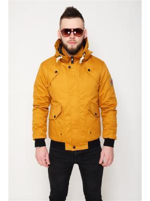 Куртка Nikolom. Цвет: желтый