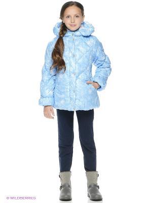 Куртка SAIMA. Цвет: голубой