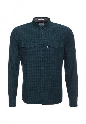 Рубашка Navigare. Цвет: бирюзовый