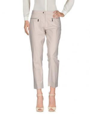 Повседневные брюки BUI de BARBARA. Цвет: светло-серый
