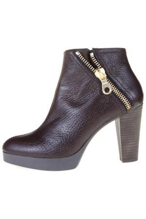 Ankle boots Sienna. Цвет: brown
