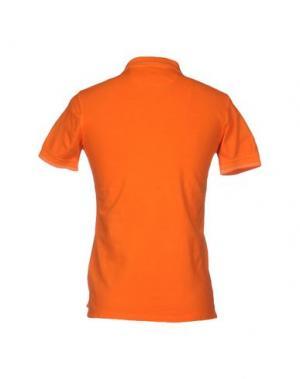 Поло DOMENICO TAGLIENTE. Цвет: оранжевый