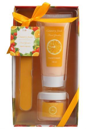 Подарочный набор Country Fresh. Цвет: оранжевый