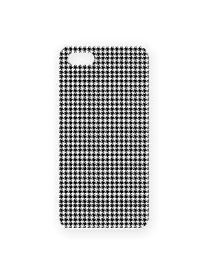 Чехол для IPhone 5 Гусиные лапки Mitya Veselkov. Цвет: белый, черный