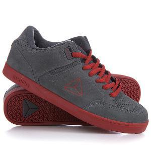Кеды кроссовки низкие  Mandela Smoke/Rust Axion. Цвет: серый