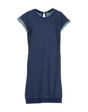 Короткое платье EMMA&GAIA. Цвет: синий