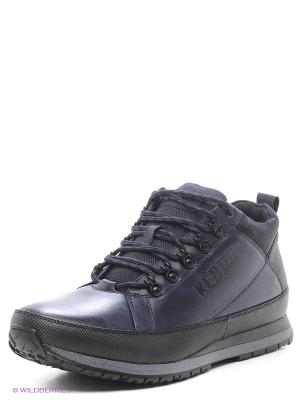 Ботинки KEDDO. Цвет: черный, синий