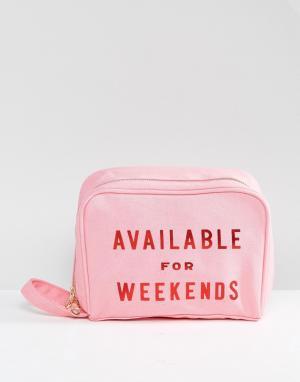 BAN DO Дорожная сумка Ban.Do Available For Weekends. Цвет: мульти