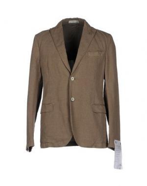 Пиджак MANUEL RITZ WHITE. Цвет: хаки