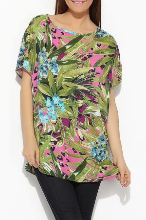 Блуза Moda di Emiliana. Цвет: мультицвет