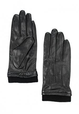 Перчатки Bata. Цвет: черный